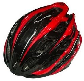 【7號公園自行車】CORSA FX2 輕量化安全帽(紅/黑)  高C/P值