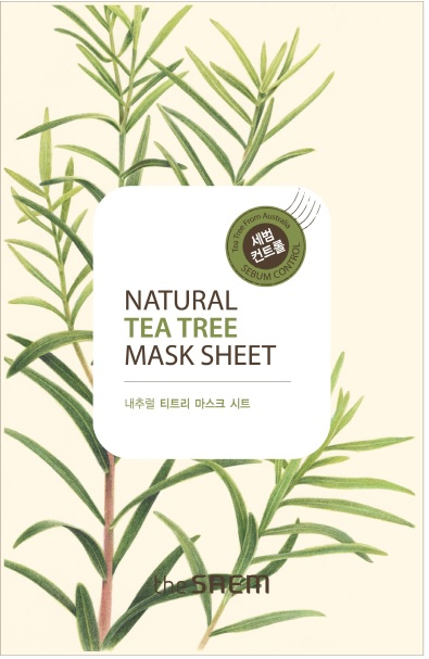 韓國the SAEM Natural 美顏茶樹面膜 21ml Natural Tea Tree Mask Sheet (New)【辰湘國際】