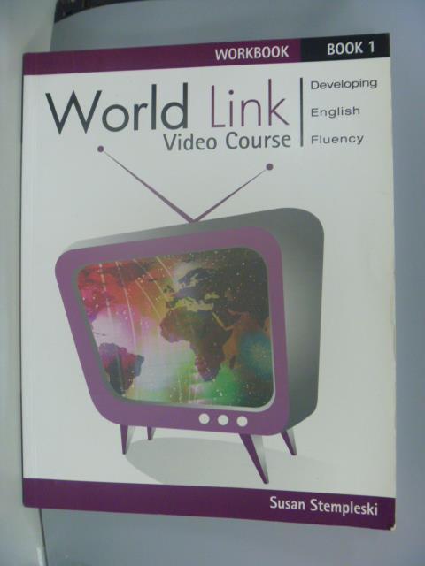 【書寶二手書T1/語言學習_ZAK】World Link Video Course_Susan
