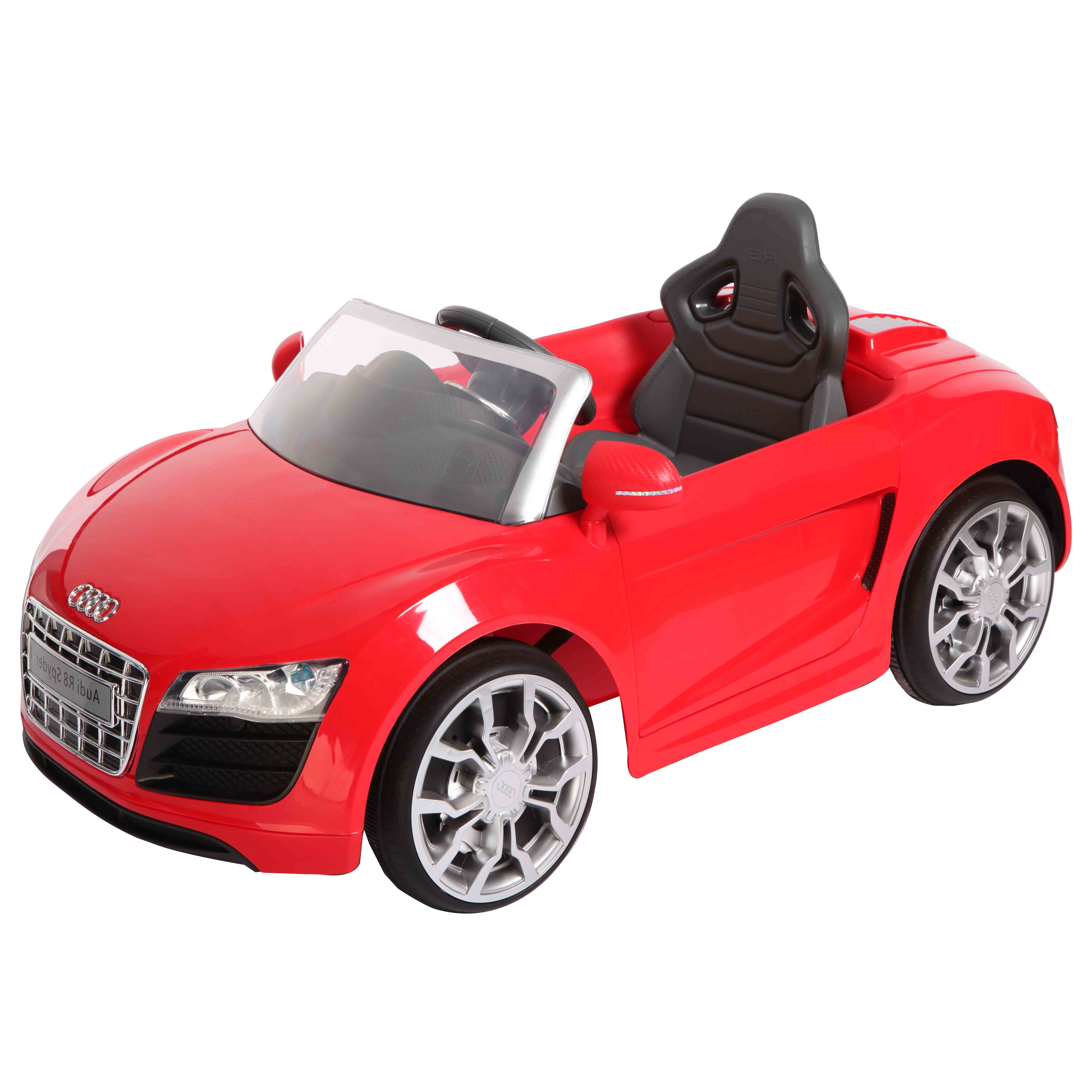 AUDI奧迪R8電動車/紅色/可遙控/兒童電動車/免運費/現貨