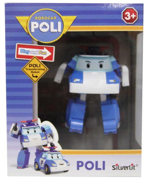 ROBOCAR POLI迷你變形波力/救援小英雄(變形車系列)-變形波力/可愛造形/可變形
