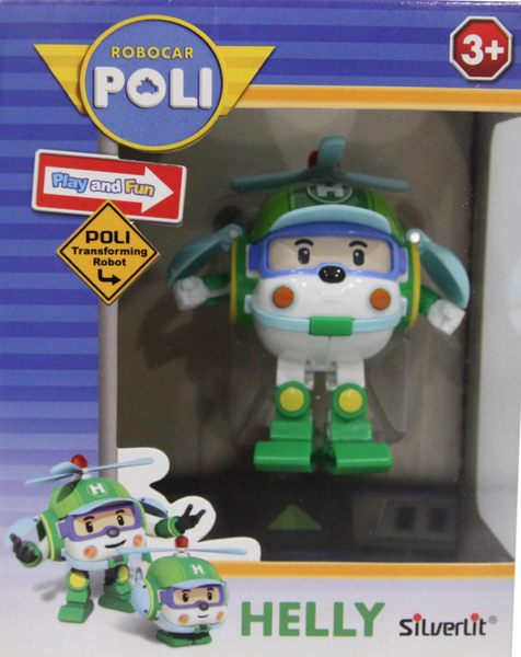 ROBOCAR POLI迷你變形赫利/救援小英雄(變形車系列)-變形波力/可愛造形/可變形