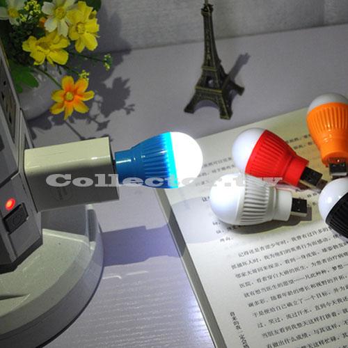 【I16111602】新款LED迷你USB燈泡 筆電小夜燈 行動電源照明燈 USB泡泡燈