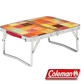 Coleman 自然風抗菌迷你摺桌 53x40cm  戶外摺疊桌/野餐桌/ 公司貨  CM-26756