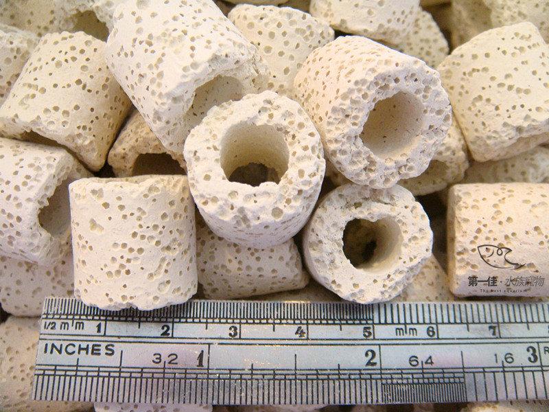 [第一佳水族寵物] 批發濾材高效能多孔陶瓷環、生化陶瓷環、石英砂陶瓷環、生化珠、石英陶瓷環散賣1L另有大包裝30L