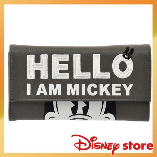 【真愛日本】FASHION-NY STREET 皮革長夾-米奇  迪士尼 米老鼠米奇 米妮   專賣店限定  日本帶回