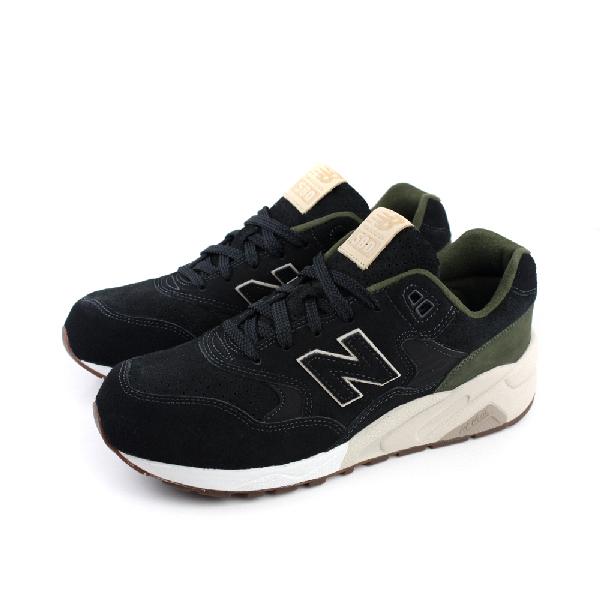 NEW BALANCE 580系列 復古鞋 男鞋 黑色 no147