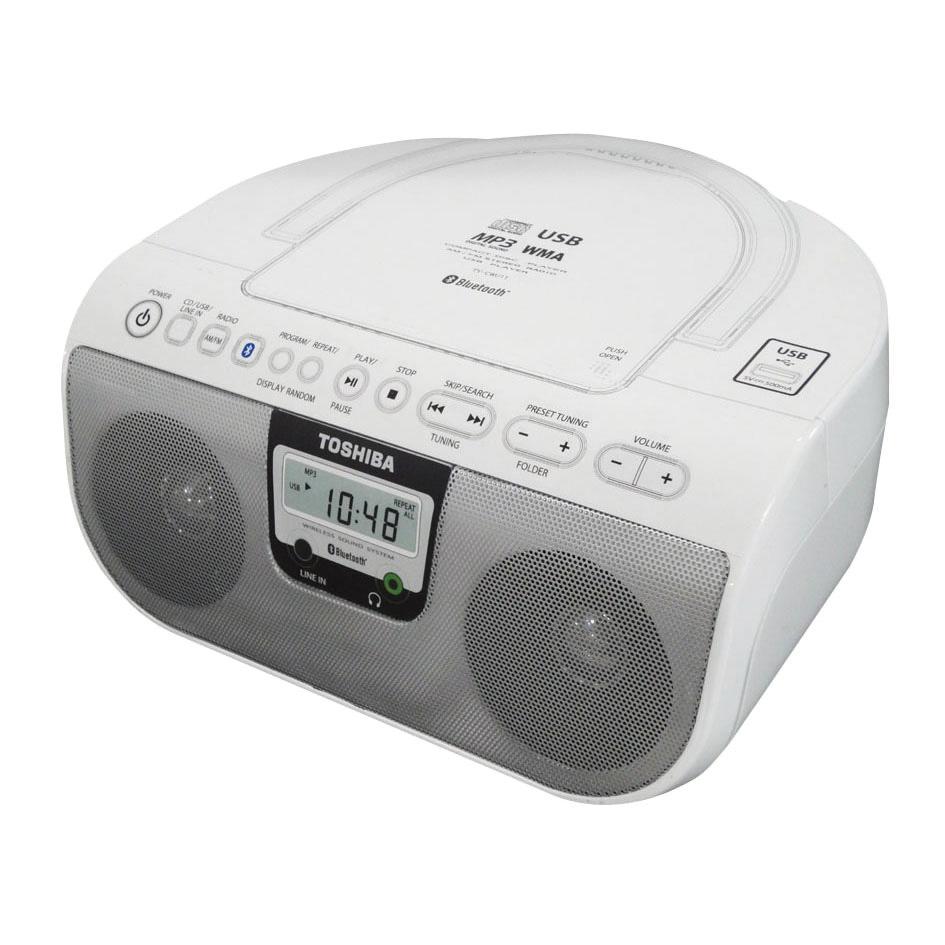 Toshiba 東芝 NFC藍牙 手提CD音響 TY-CWU11TW