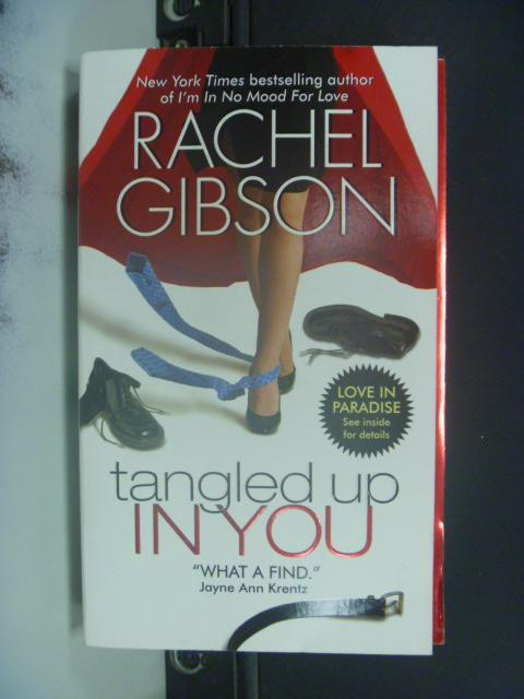 【書寶二手書T9/原文小說_KPI】Tangled Up in You_Rachel Gibson