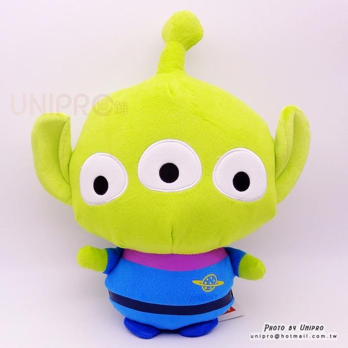【UNIPRO】迪士尼正版 三眼怪 Alien Q版 大頭 絨毛玩偶 娃娃 卡哇伊