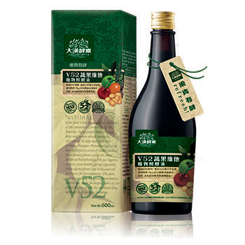 【大漢酵素】V52蔬果維他植物醱酵液