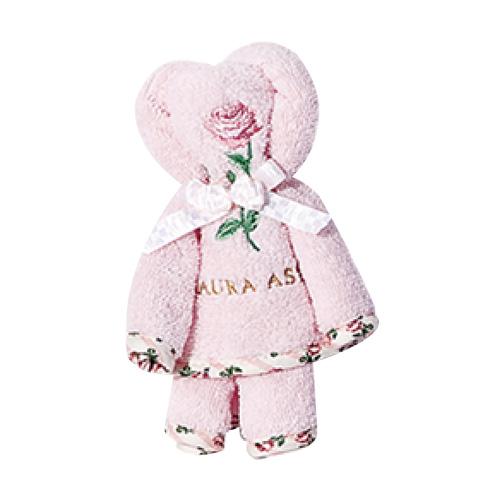 UCHINO [小熊造型手帕] LAURA ASHLEY 送禮 手帕 毛巾 100%純綿 小熊玩偶 情人節 全台限量
