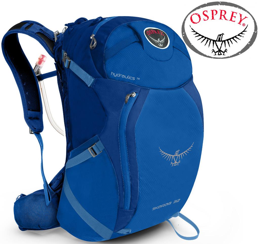 Osprey Skarab 32 登山背包/健行背包//單車包/水袋背包 附水袋 盆地藍 台北山水