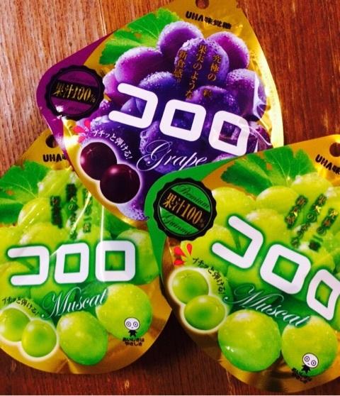 預購 日本超人氣 100%果汁葡萄果實軟糖  UHA 味覺糖  (2入免運130元)