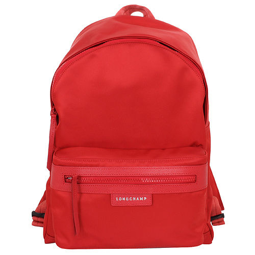 【LONGCHAMP】 LE PLIAGE NEO 系列  後背包 - 紅色