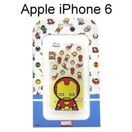 復仇者聯盟Q版透明軟殼 [鋼鐵人] iPhone 6 / 6S (4.7吋)【正版授權】