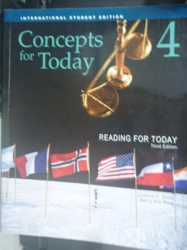 【書寶二手書T4/語言學習_ZGS】Concepts For Today 4_Lorraine C. Smith