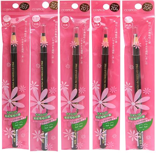 COSMOS 日本拆線眉筆  (可削成武士刀眉筆) 一次買六支再送一支喔《Umeme》