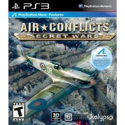 PS3 空中空戰衝突:秘密戰爭(相容 PS MOVE) Air Conflicts:Secret War -英文美版-