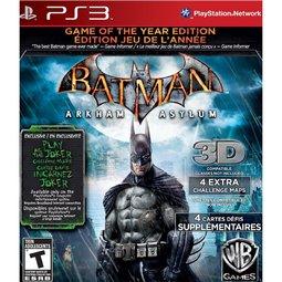 PS3 Batman蝙蝠俠:阿卡漢療養院小丑大逃亡 年度紀念完整特別版-英文美版-