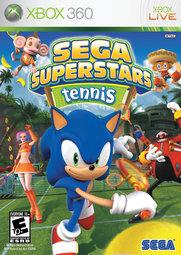 XBOX 360 音速小子 SEGA 超級巨星全明星網球 SuperStar Tennis-英文美版-