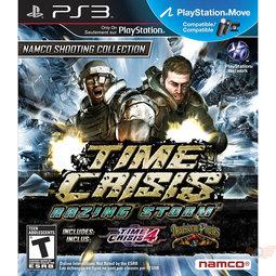 PS3 火線危機:烈火風暴 光線槍射擊三合一精選合輯(相容Move) Time Crisis Razing Storm -英文版-