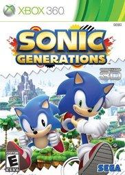 XBOX 360 音速小子:新世代 純白時空 Sonic:Generations(支援3D) -英日文美版-