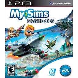 PS3 我的模擬城市:小市民空中英豪 My Sims:Sky Heroes -英文美版-
