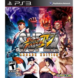 PS3 超級快打旋風4 AE版 Super Street Fighter 4 Arcade Edition -英日文美初版-