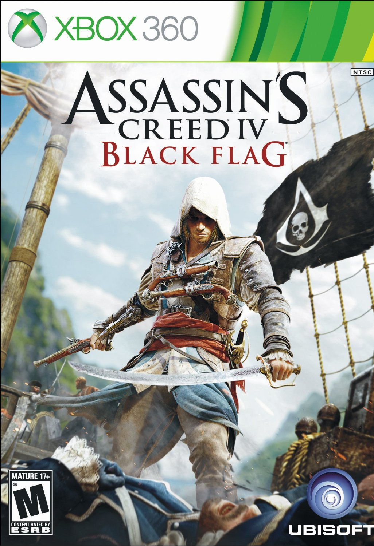 XBOX 360 刺客教條4:黑旗 -英文美版- Assassin's Creed 4 :Black Flag