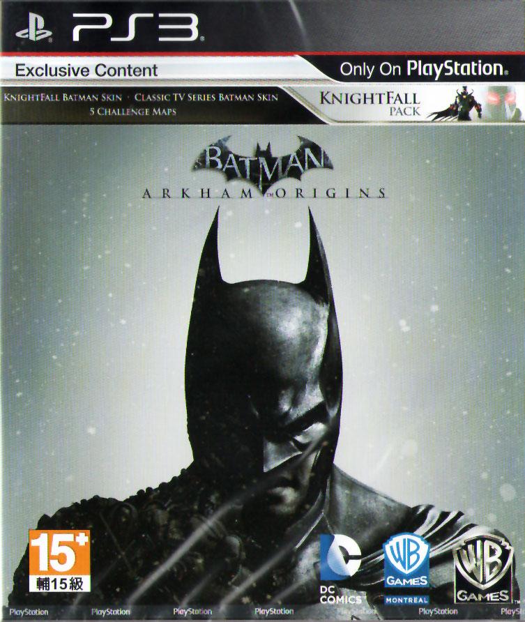PS3 蝙蝠俠:阿卡漢始源(含初回特典下載) Batman:Arkham Origins -英文亞版-