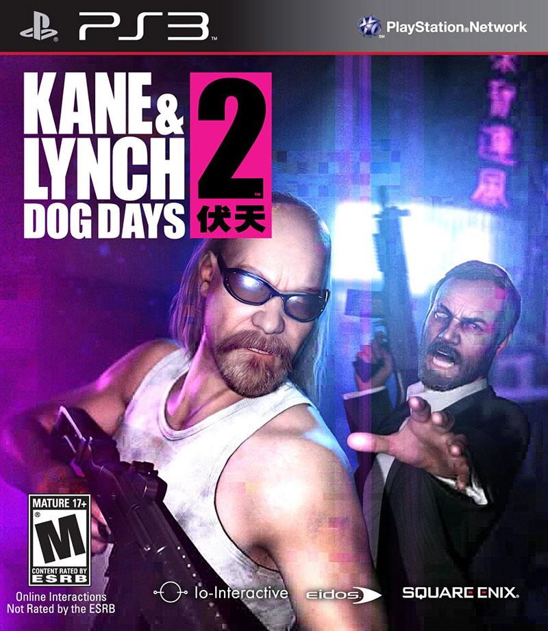 PS3 喋血雙雄2:伏天 Kane & Lynch 2 Dog Days-英文美版-