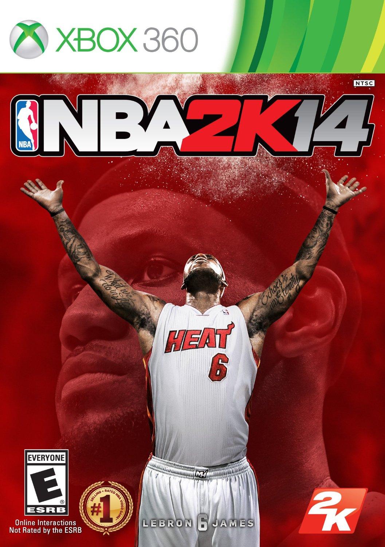XBOX 360 NBA 2K14 勁爆職業籃球 2014 -中文版-