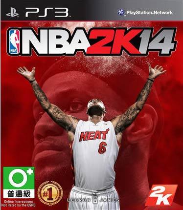 PS3 NBA 2K14 勁爆職業籃球 2014 -中英文版-