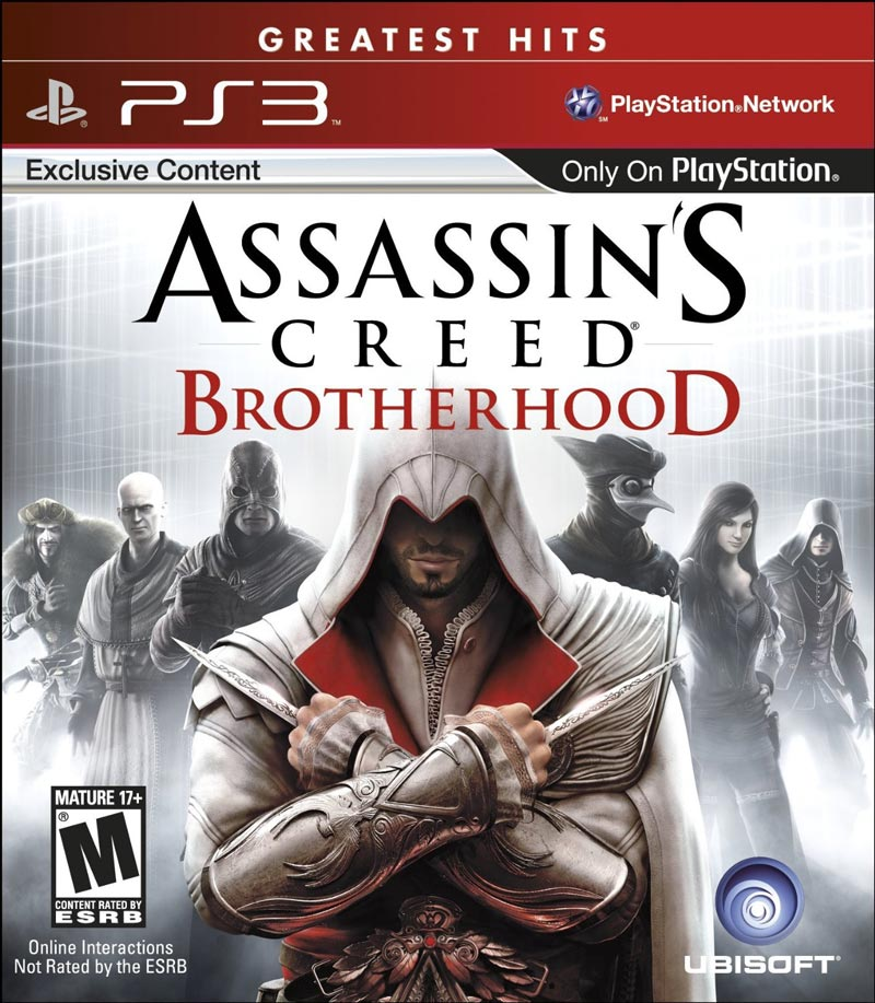 PS3 刺客教條:兄弟會(含獨家任務) Assassin's Creed: Brotherhood -英文白金紅盒美版-