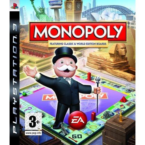 PS3 Monopoly 大富翁 地產大亨 -英文版-