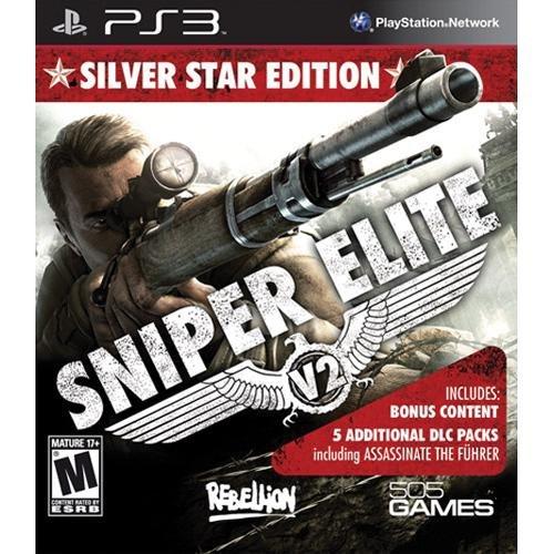 PS3 狙擊精英V2銀星加強版 Sniper Elite V2 Silver Star-英文美版-