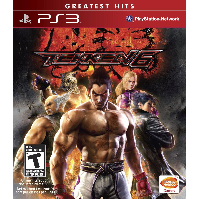 PS3 鐵拳6 Tekken 6 -英日文紅盒白金美版-