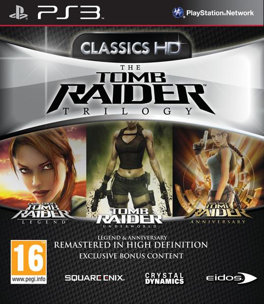 PS3 古墓奇兵蘿拉三部曲三合一合輯 Tomb Raider Trilogy (附額外下載內容)-英文版-