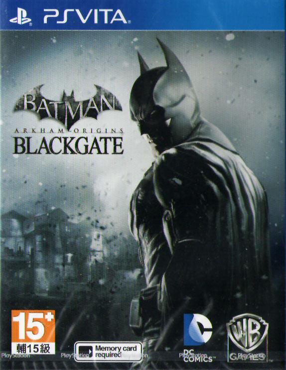 PSV 蝙蝠俠阿卡漢始源:黑門監獄 Batman Origins: Blackgate -英文美版-