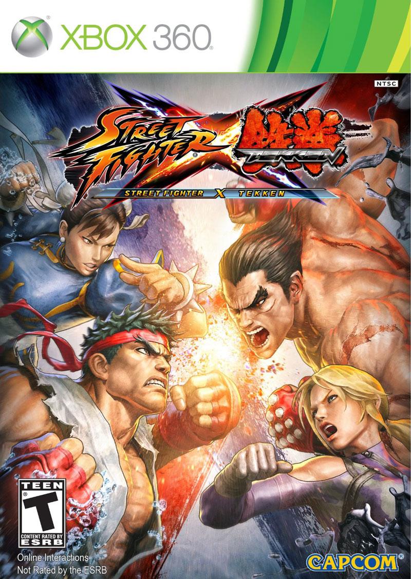 XBOX 360 快打旋風X鐵拳漫畫特別版 Street Fighter X Tekken-英日文美版-