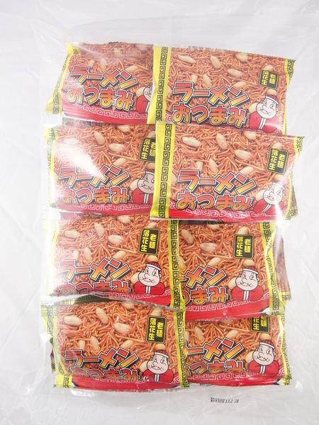 有樂町進口食品 日本製造原裝進口 山榮 落花生點心麵 雞汁老麵花生 最具人氣的落花生與點心麵 J150 490359001300