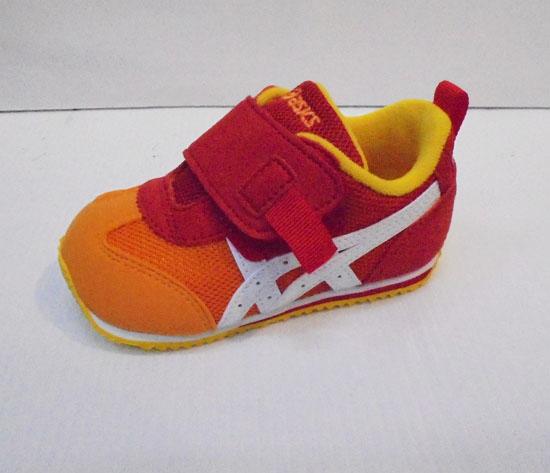 [陽光樂活]ASICS 亞瑟士 紅X橘 童鞋 IDAHO BABY GR-ES 2 TUB159-09GR