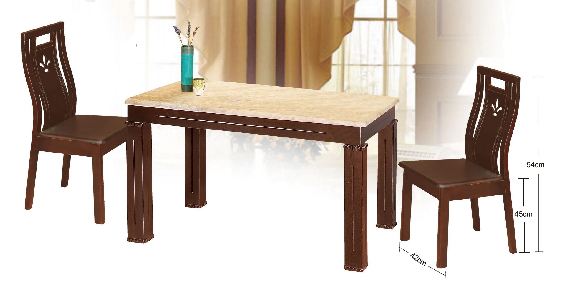 【尚品傢俱】JJ-7101 新西米石胡桃實木餐桌