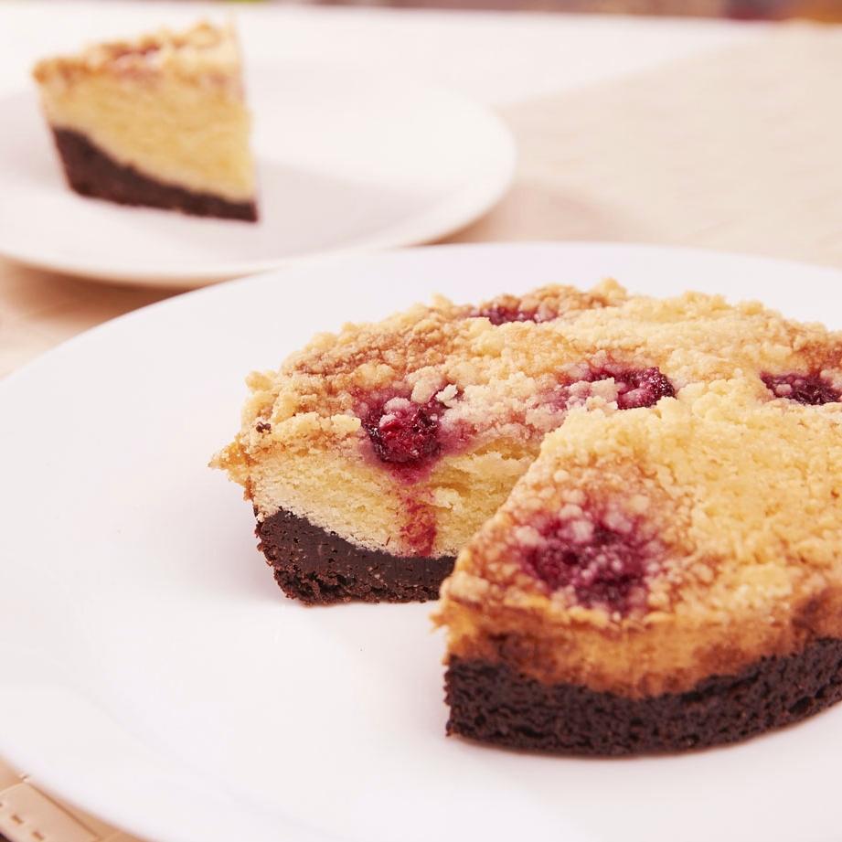 【旅人蛋糕】五吋櫻桃匈牙利康布拉蛋糕,多層次口感,第一層新鮮莓果,第二層鬆軟匈牙利蛋糕體,第三層濃郁75%苦甜巧克力蛋糕體