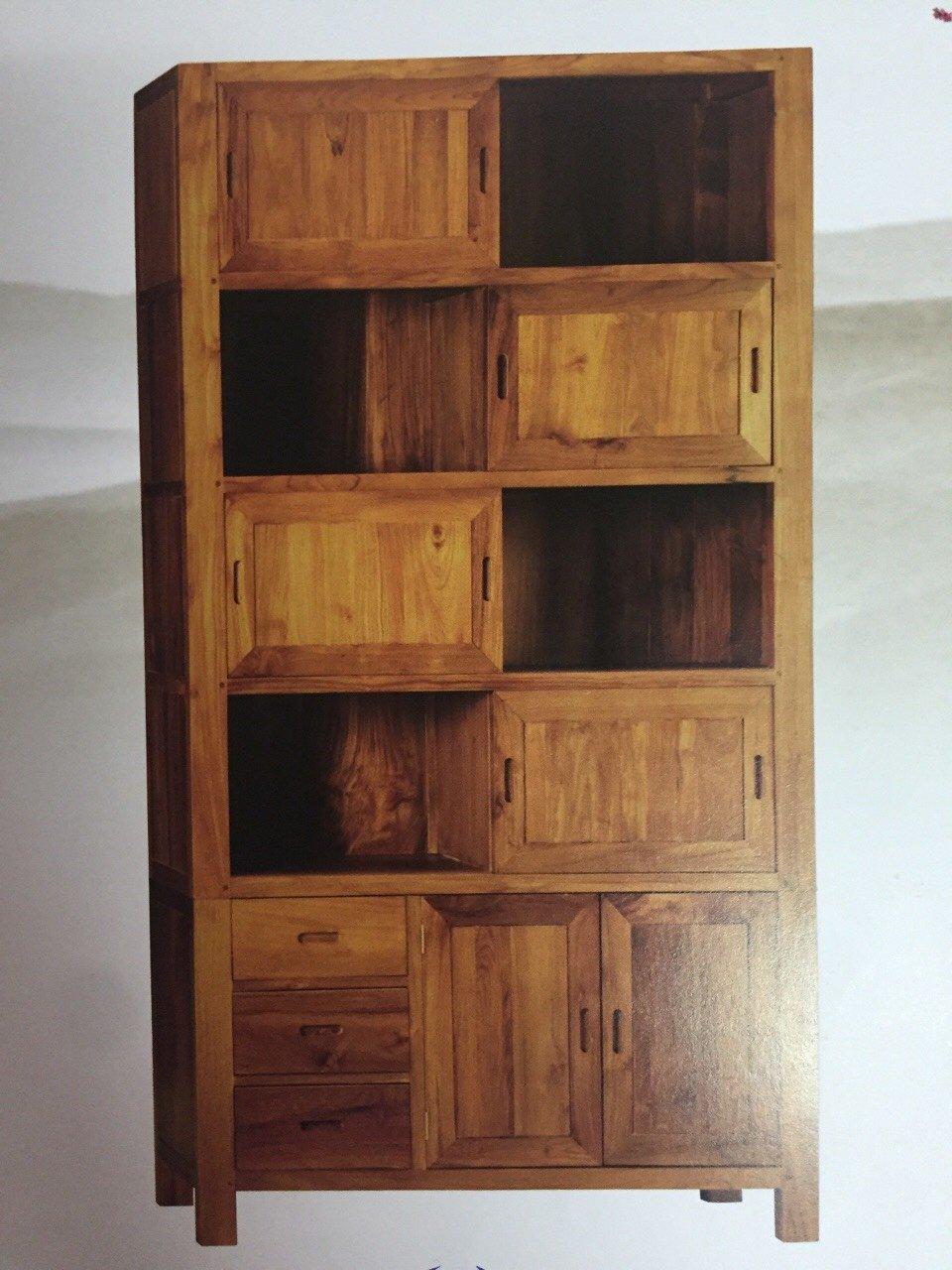 【石川家居】KL-103 柚木GS四層置物櫃/開放式書架/書櫃 需搭配車趟費