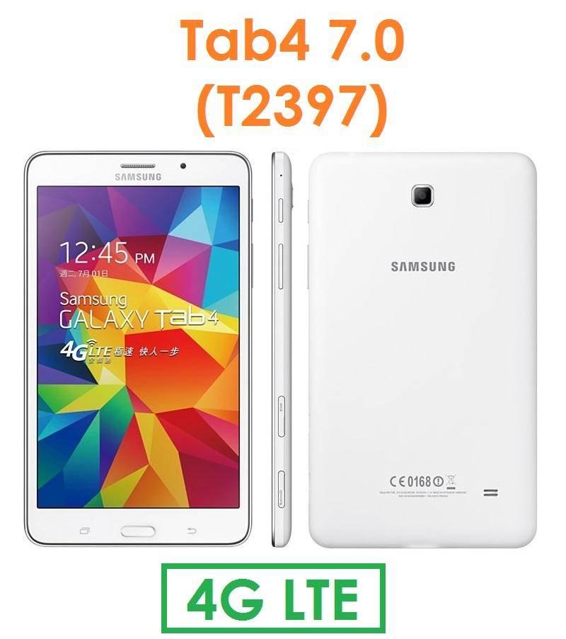 【原廠現貨】三星 Samsung Galaxy Tab4 7.0 (T2397) 4G LTE 可通話平板電腦  TAB 4