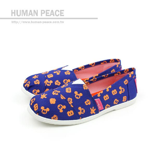 Disney 迪士尼 懶人鞋 藍 女款 no029