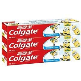 『121婦嬰用品館』高露潔 小小兵防蛀含氟兒童牙膏(凝露)40gx3入(香香水果口味)
