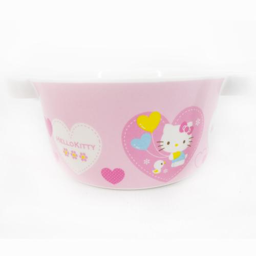【真愛日本】15091900007雙耳杯-愛心粉  三麗鷗 Hello Kitty 凱蒂貓 杯子  雙耳  正品